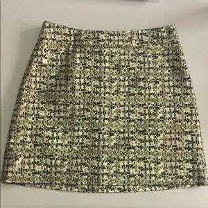 H&M gold skirt Sz 4
